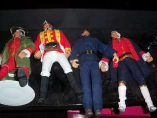 milatry heros MALE 12 set of action figure dolls 4 MYSTERY ooak lot