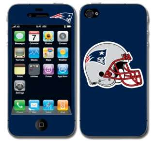 New England Patriots Vinyl Skin Decal Cover Iphone 4 Sticker Guard Go