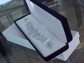 Longer Deluxe BLUE VELVET Jewelry BRACELET or WATCH Gift Box