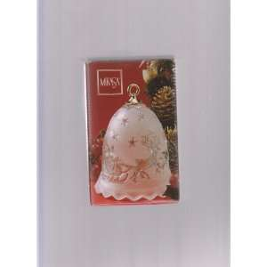 Mikasa Christmas Bell Ornament ; Silent Night Everything