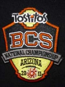 2011 BCS NATIONAL CHAMPIONSHIP AUBURN vs. OREGON PATCH