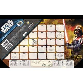 Star Wars Saga 2012 Desk Pad
