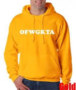 OFWGKTA Odd Future Tyler Creator Hoodie Sweat Shirt Swag Hip Hop Wolf
