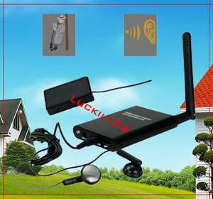 NEW Wireless FM SPY bug audio Transmitter Receiver