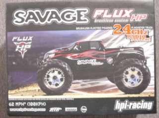 HPI Savage FLUX Brushless RTR Monster Truck HPI104240