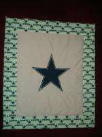 Baby Nursery Crib Bedding Set w/Dallas Cowboys fabric