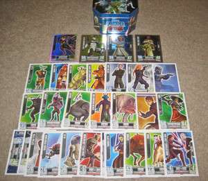 Star Wars Clone Wars Force Attax 2 Tin Foil Cards Anakin Skywalker