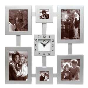 Family Moments Picture Frame Wall Clock  Home & Kitchen