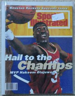 Houston Rockets NBA Champions 1994 Excellent to Near Mint Condition