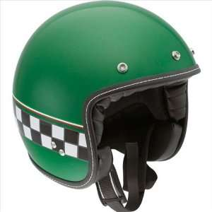 AGV RP60 HELMET   CAFE RACER (LARGE) (GREEN) Automotive