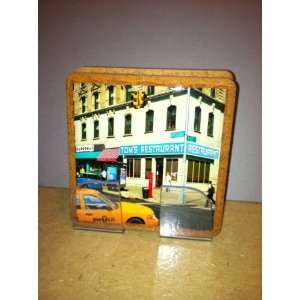 Toms Restaurant Stone Coasters: Kitchen & Dining