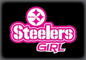 Pittsburgh STEELERS Sticker / Decal Steelers Girl
