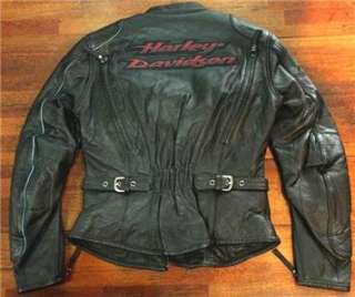 Harley Davidson Torrent Heavy Leather Jacket 97074 06VW L Zip Liner