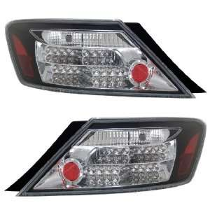HONDA CIVIC 06 UP 2 DR LED TAIL LIGHT BLACK NEW