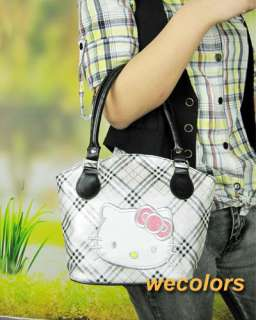 Cute Hellokitty Purse Hand Shoulder Shopping Bag Pu Leather Lady Gift