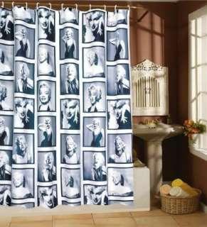 Rare Marilyn Monroe Waterproof Fabric Shower Curtain