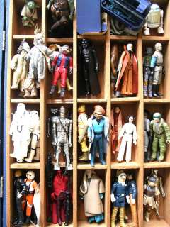 STAR WARS 1977  84 COLLECTION 41 FIGURE + WEAPONS LOT