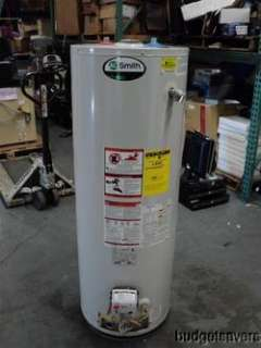 Smith Promax 301 Series GCV 50 50 Gallon 37k BTU Natural Gas Hot Water