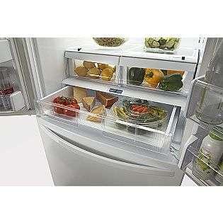 ft. French Door Bottom Freezer Refrigerator Stainless Steel  Kenmore