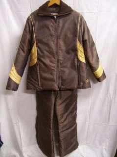Vtg 2pc Arctic Cat Snowmobile Suit/Jacket/Pants XL MINT |