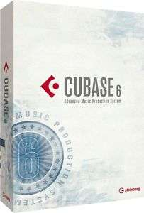 CUBASE 6 PROFESSIONAL BRAND NEW STEINBERG FULL RETAIL VERSION