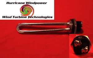 Wind Generator 12 volt 300 watt DC Water Heater Element