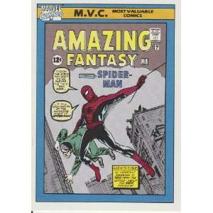 Amazing Fantasy #15 #126 (Marvel Universe Series 1 Trading
