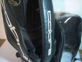 Black King Cobra Staff Golf Bag w/ Iron Stacker & Rain Cover