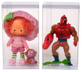 10 DollSafe Display Case Boxes for Strawberry Shortcake