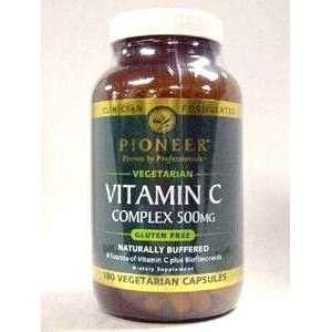 Pioneer   Vitamin C Complex 500 mg 180 vcaps Health