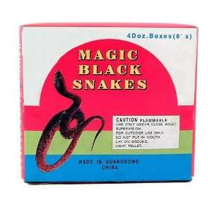 Magic Black Snakes Box(pack Of 48): Home & Kitchen