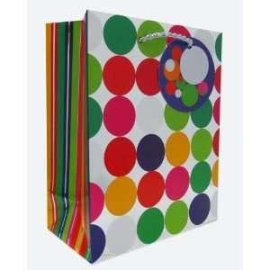 120 Pcs Premium Paper Gift Bags Bulk 7.5 x 6 x 3 (Chrome