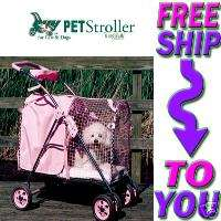 5TH AVE PET STROLLER LUXURY SUV Dog Cat PINK 838009990011