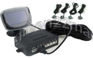 Parking Sensors LCD Car Reverse Backup Radar Kit