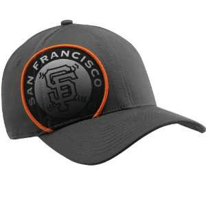 San Francisco Giants 39Thirty Grey New Era Pop Granite Stretch Fit Hat