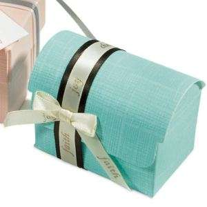 Italian Upscale Wedding Favor Box DIY Colors/Styles 100