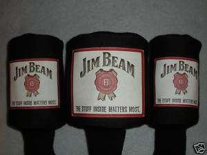 Jim Beam Whiskey GOLF CLUB Driver HEADCOVERS (set of 3)