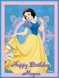 Disney Princess SNOW WHITE Frosting Sheet Cake Topper