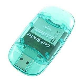 Flash SDHC MMC USB Memory Card Reader Writer
