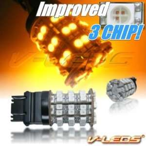 V LEDS AMBER 60 M SMT PARK/TURN BULBS 3157 3156 4057