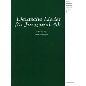 Oral Traditions, 7, Deutsche Lieder für Jung und Alt