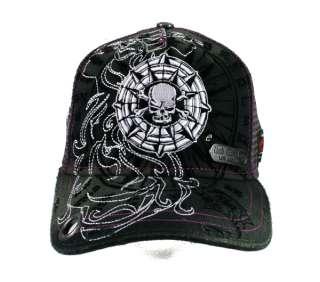 Red Monkey VIKING SHIELD cap trucker hat Black Limited edition RMDH311