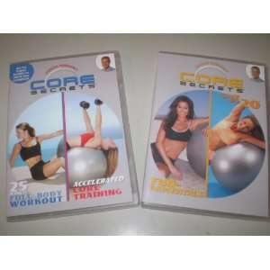 , 25 Minute Full Body Workout, and Accelerated Core Training   3 Dvds