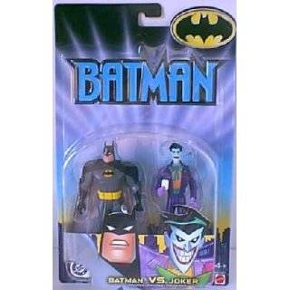 Batman vs Joker 2 Pack Action Figures 2002 Mattel