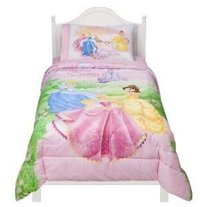 Disney Princess Jeweled Fantasy Comforter   Twin: Home