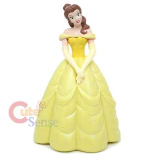 Disney Princess Belle Figure Coin Bank  7 PVC Figure