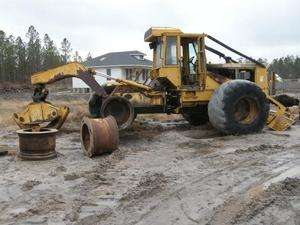 1997 John Deere 648G Grapple Skidder