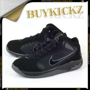 Nike Air Team Hyped Black/Dark Grey Basketball Max Mens 407655 001