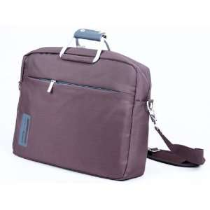 15 Laptop Notebook Briefcase Carrying Bag Case Brown