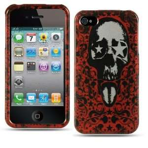 Apple Iphone 4, 4s Phone Protector Hard Cover Red Star Eye